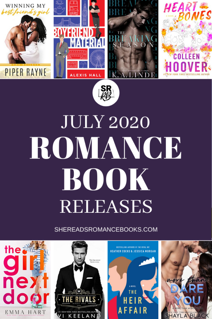 Check out the book list of the most anticipated new romance book releases for July 2020.
