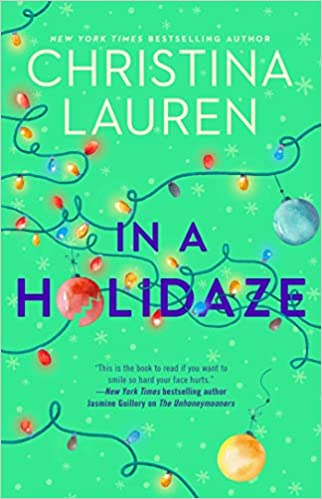 In a Holidaze is the latest contemporary romance book writing duo Christina Lauren. Mae is stuck in a time loop reliving her Christmas holiday but at least she has the chance to right a wrong - which was kissing the wrong brother! Read the book review by romance book blogger, She Reads Romance Books to see if you'll find this book worth reading too.