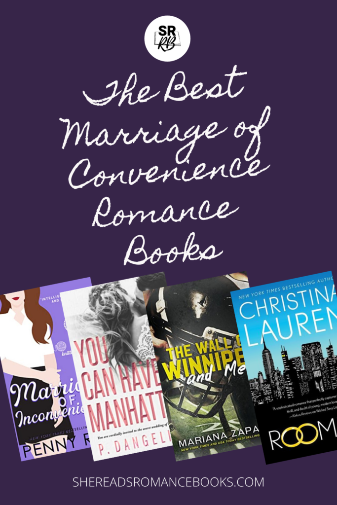 Book list of the best marriage of convenience books