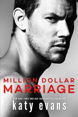 Million Dollar Marriage is a book with a hot romance novel cover.