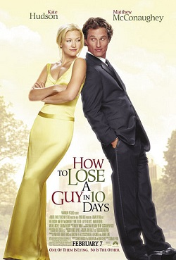 How to Lose a Guy in 10 Days movie cover.