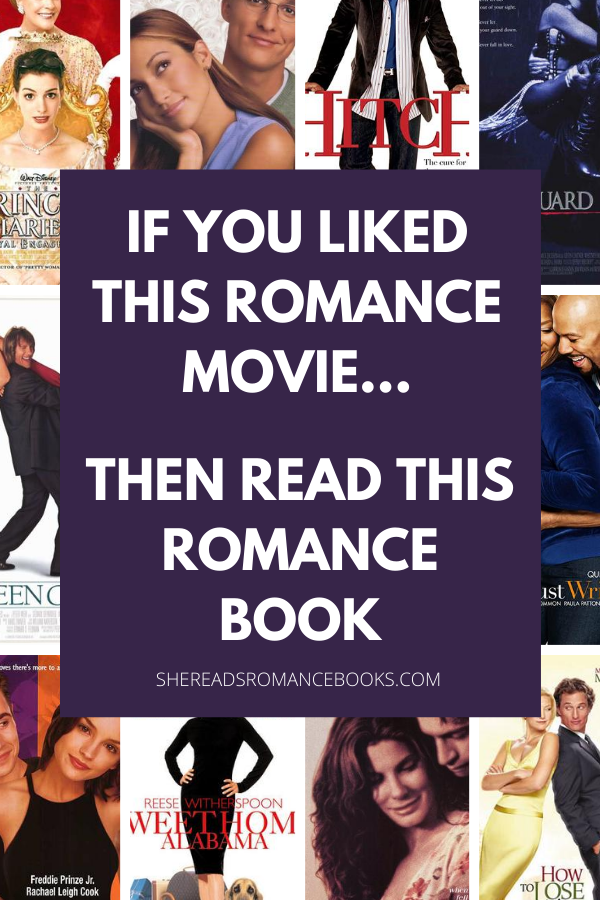 Romance Book Recommendations based on Romantic Comedy movies book list.