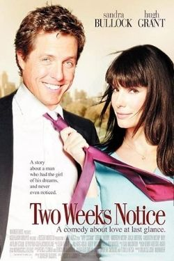 Two Weeks Notice movie cover.