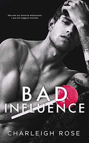 Bad Influence is a must read college romance book.