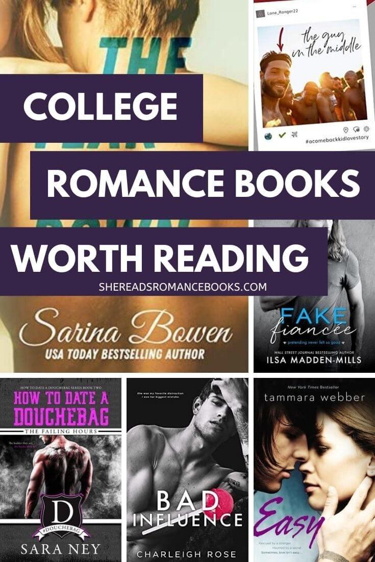 Book list of college romance books worth reading.