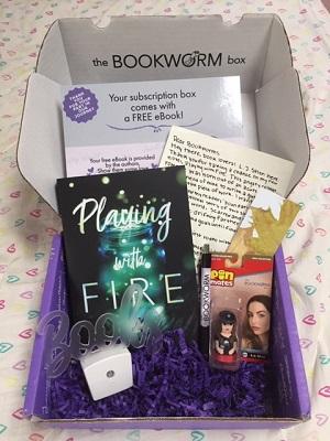 Bookworm Romance Book Subscription service reveal