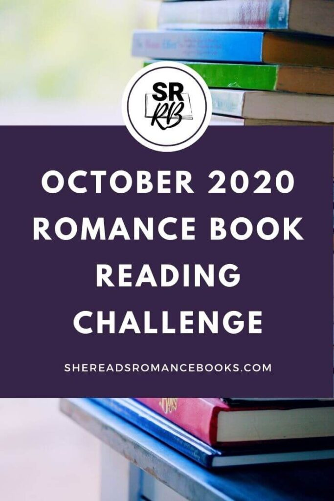 Join in the October 2020 Romance Book Reading Challenge by She Reads Romance Books. This month we are reading one romantic suspense book.