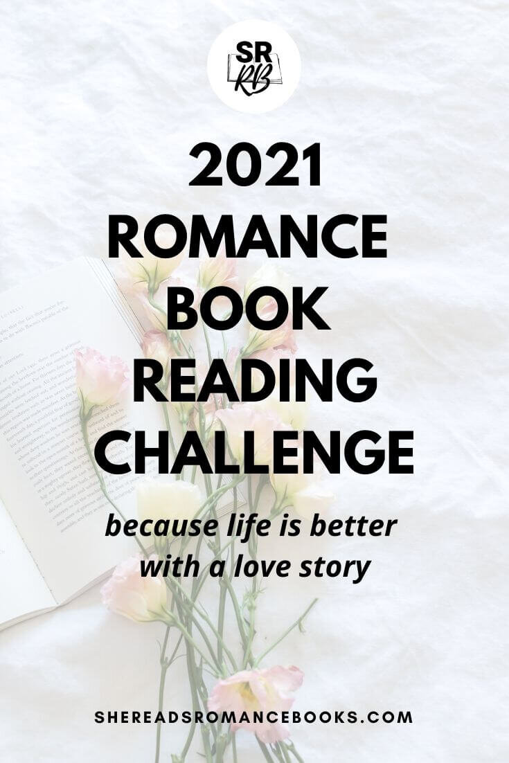 Join in the romance book reading challenge for 2021 where we will read one romance book each month in a different romance book genre or romance book trope.