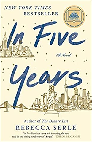 In Five Years is one of this year's nominees for the 2020 Goodreads Choice Awards for Best Romance Book.