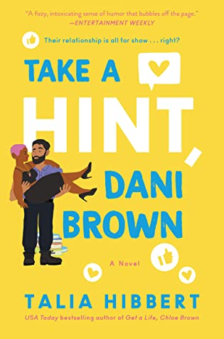 Take a Hint, Dani Brown is a book from one of today's popular black romance authors.