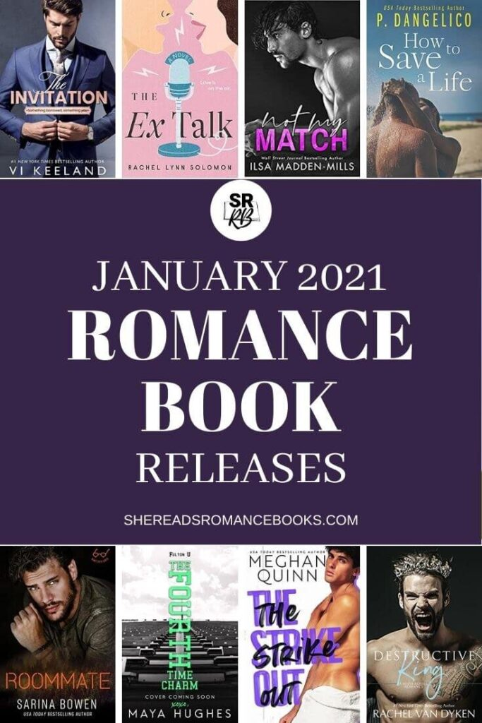 Check out the new romance book releases coming in January 2021