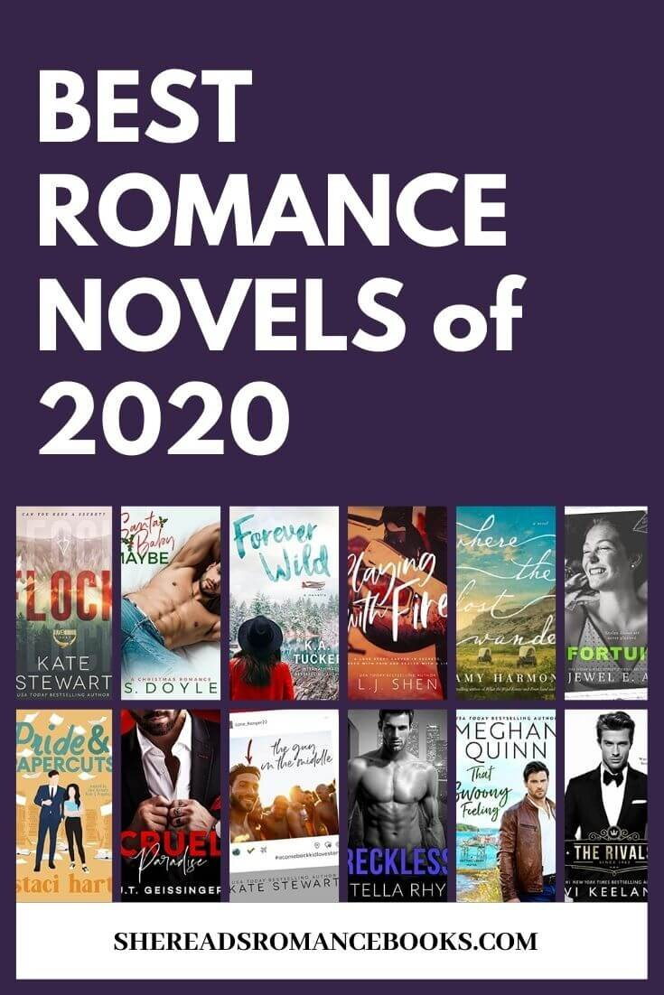 Check out which romance books, romance book blogger, She Reads Romance Books selected as the Best Romance Novels of 2020.