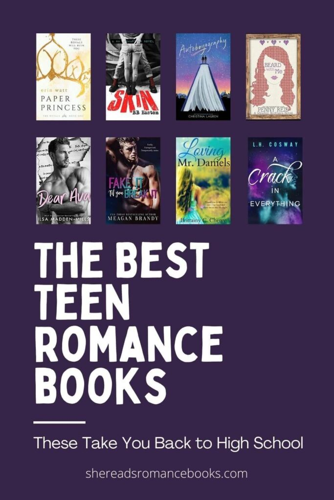 Discover the best teen romance books and high school romance books worth reading from popular romance book blogger, She Reads Romance Books
