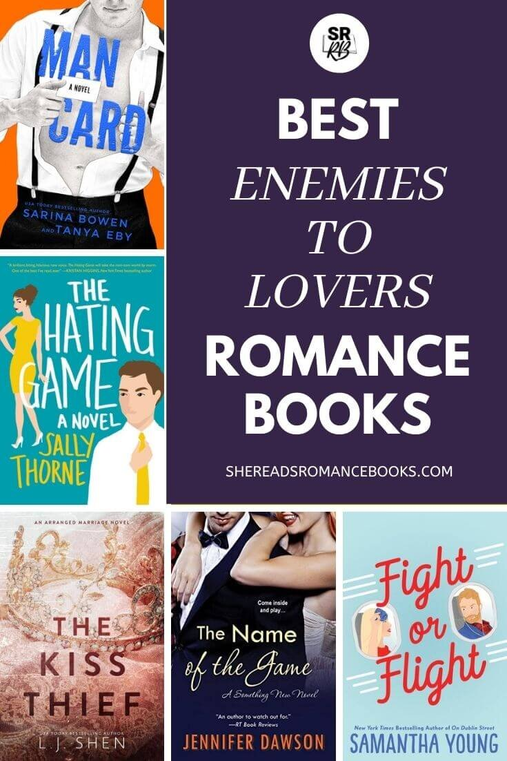 Book list of the best Enemies to Lovers books