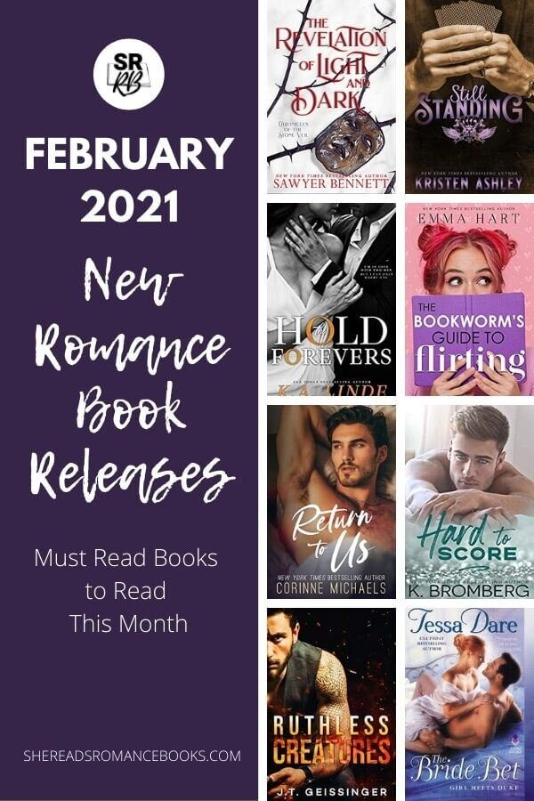 Check out the new romance book releases coming in February 2021!