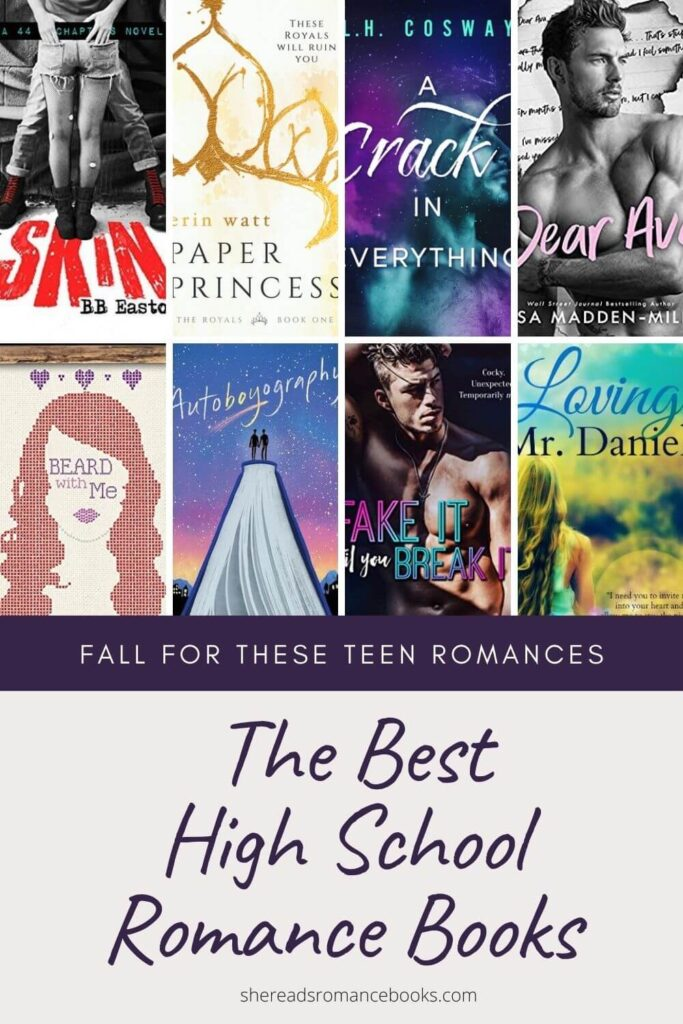 Discover the best teen romance books worth reading from popular romance book blogger, She Reads Romance Books.