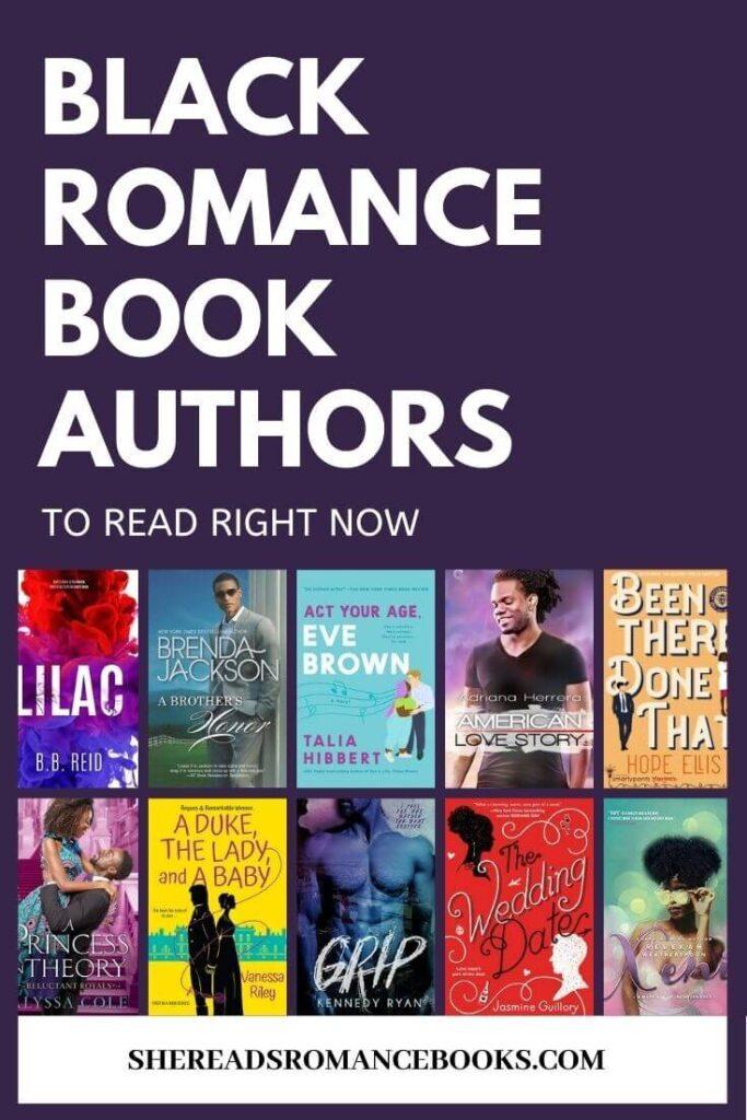 List of black romance authors to read.