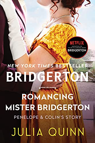 Romancing Mr. Bridgerton book cover.