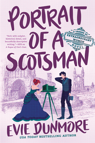 Portrait of a Scotsman is a new romance book release in September 2021.
