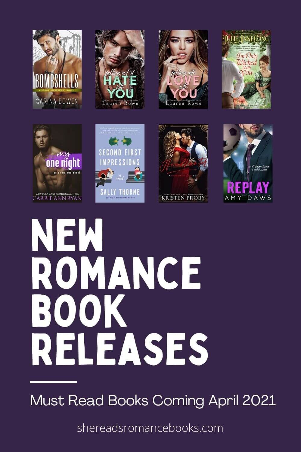 Check out the list of most anticipated romance books for April 2021.