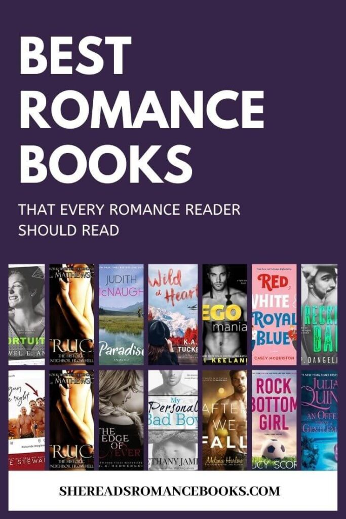 Discover the best romance novels of all time in this epic book list.