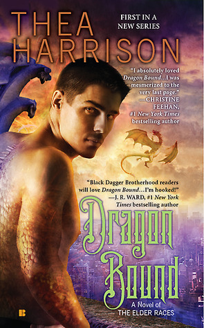 Dragon Bound  is the first book in the fantasy romance series, Elder Races, by Thea Harrsion. Check out the book review from romance book blogger, She Reads Romance Books, to see if this is a romance book worth reading.