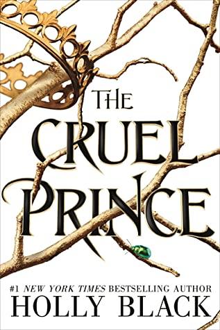 The Cruel Prince book cover- a popular fantasy romance book.