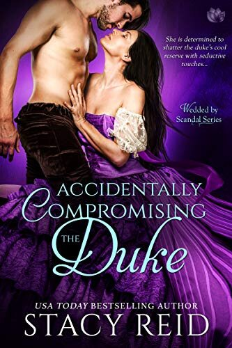 Accidentally Compromising the Duke historical romance book cover.