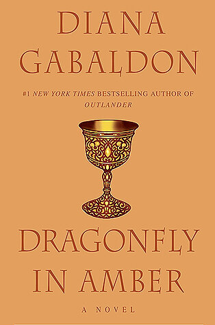Dragonfly in Amber book cover.