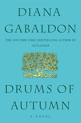 Drums of Autumn book cover.