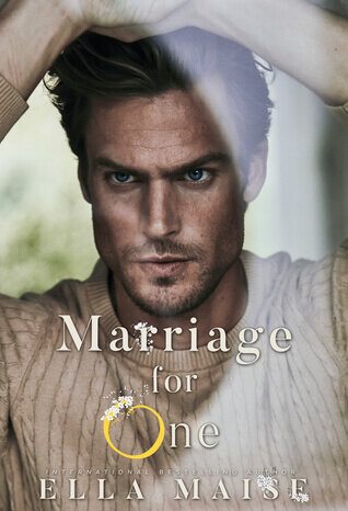 Marriage for One is book with a hot romance novel cover.