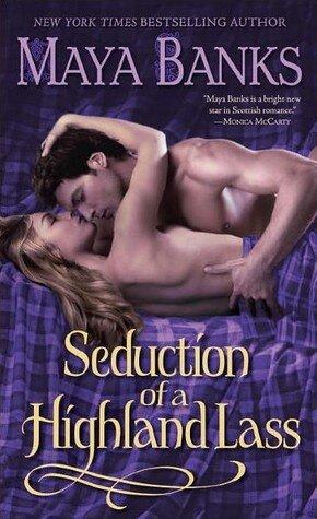 Seduction of a Highland Lass book cover.
