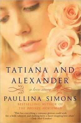 Tatiana and Alexander historical romance book cover.