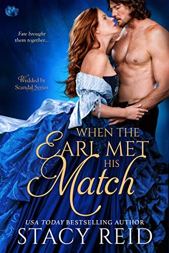 When the Earl Met His Match historical romance book cover.