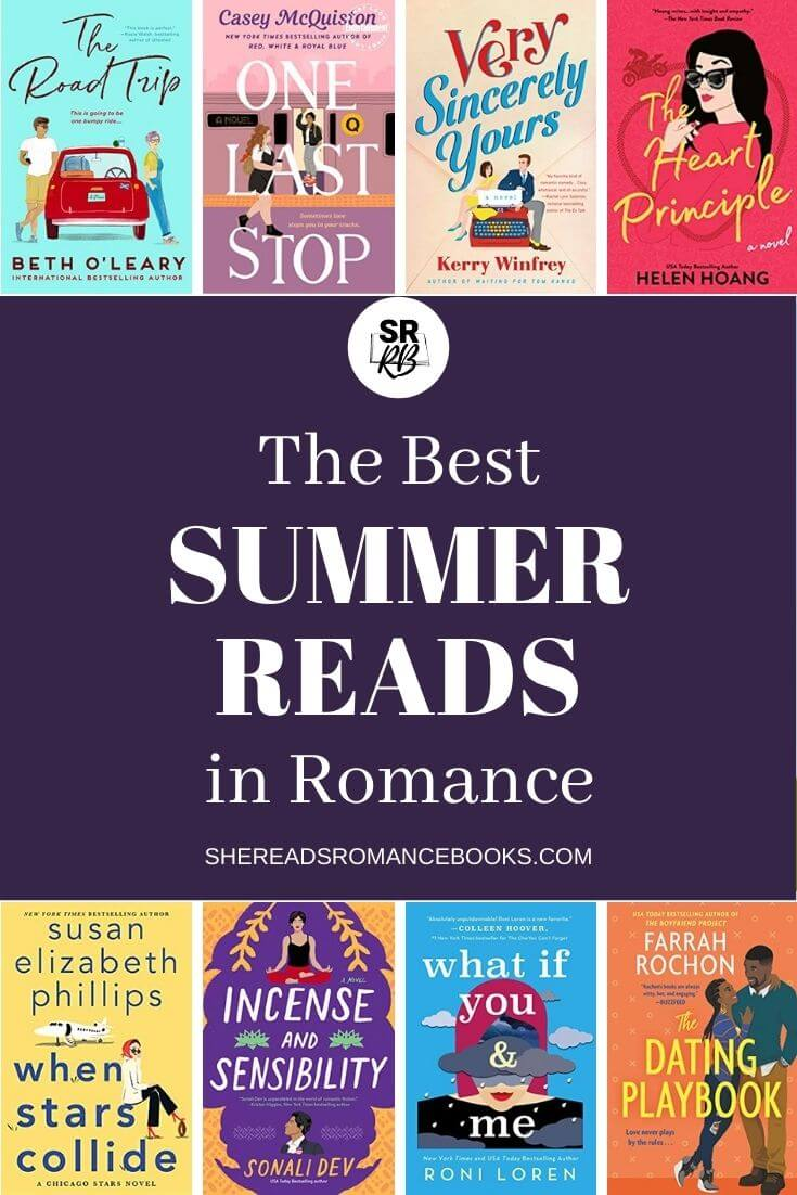 Discover the best summer reads for 2021 from popular romance book blogger, She Reads Romance Books.