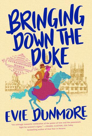 Bringing Down the Duke historical romance book cover.