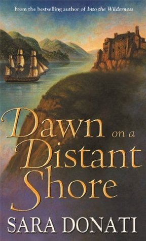 Dawn On a Distant Shore historical romance book cover.