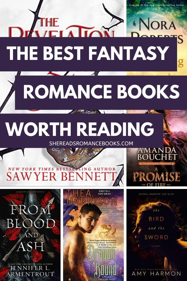 Discover the best fantasy romance books worth reading from popular romance book blogger, She Reads Romance Books. Check out the full list of her most favorite fantasy romance books and the most popular in the genre.