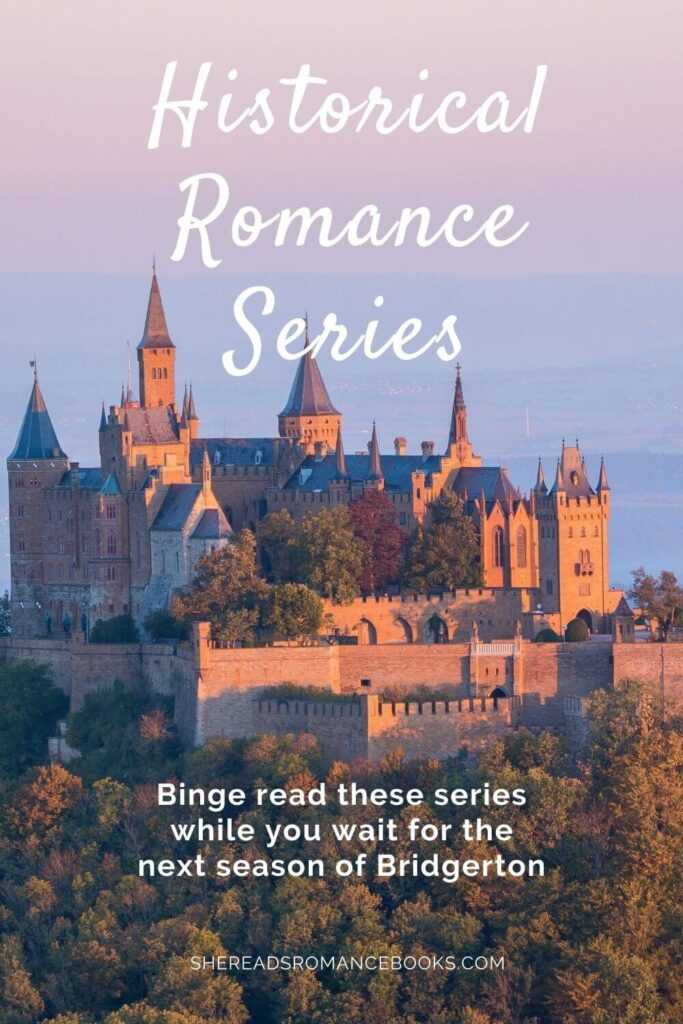Check out these historical romance series worth reading if you're going through Bridgerton withdrawal.