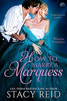 How to Marry a Marquess historical romance book cover.