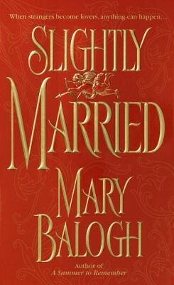 Slightly Married historical romance book cover.