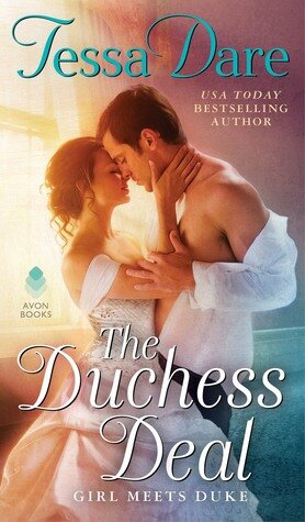 The Duchess Deal historical romance book cover.