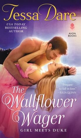 The Wallflower Wager is a nominee for best romance book in the 2019 Goodreads Choice Awards.