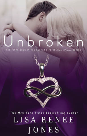 Unbroken is a romance novel optioned for a movie on Passionflix.