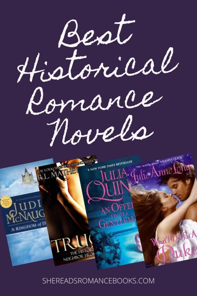 Best Historical Romance Novels List