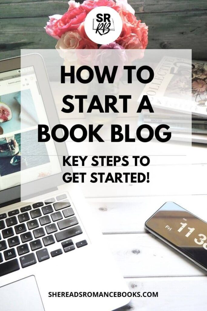 How to start a book blog.