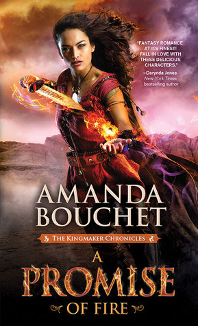 A Promise of Fire book cover and review by She Reads Romance Books