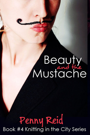 Beauty and the Mustache romance book cover.