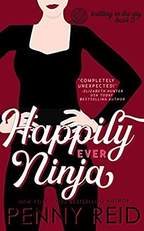Happily Ever Ninja romance book cover.