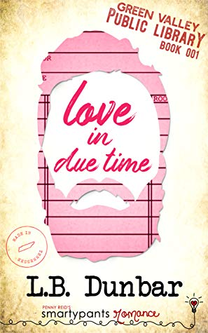 Love in Due Time romance book cover.